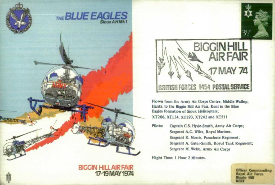 Air Displays Blue Eagles cover