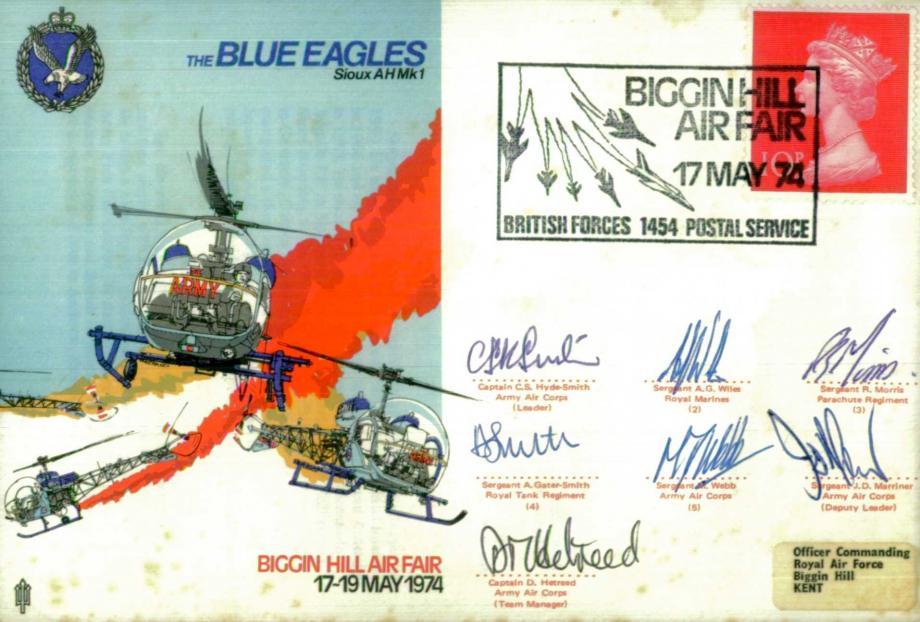 Air Displays Blue Eagles cover Sgd Team