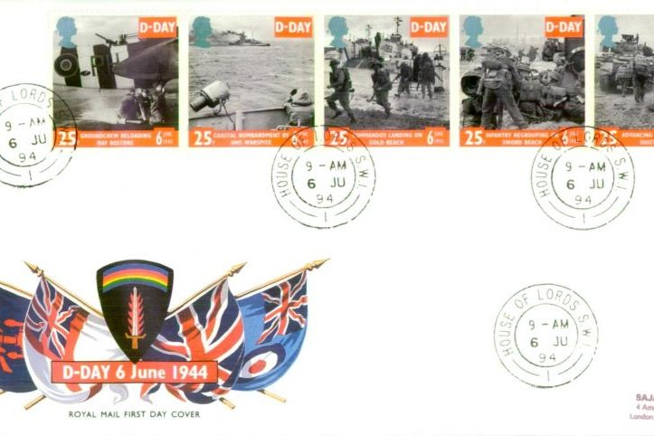 D Day cover