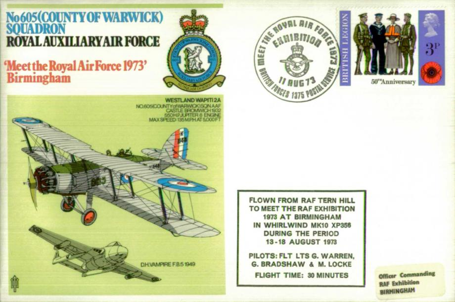 605(County of Warwick) Squadron Cover