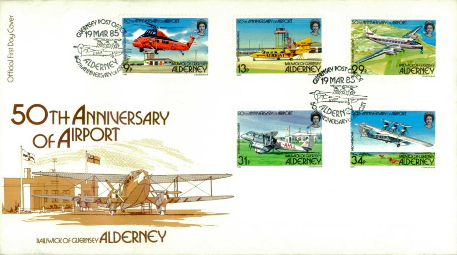 Alderney Airport cover