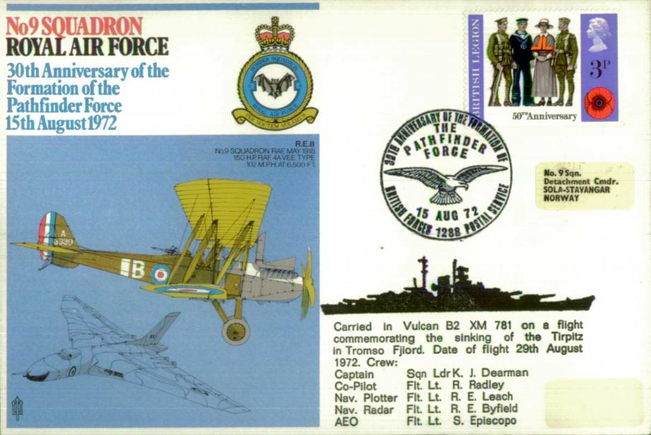 No 9 Squadron cover