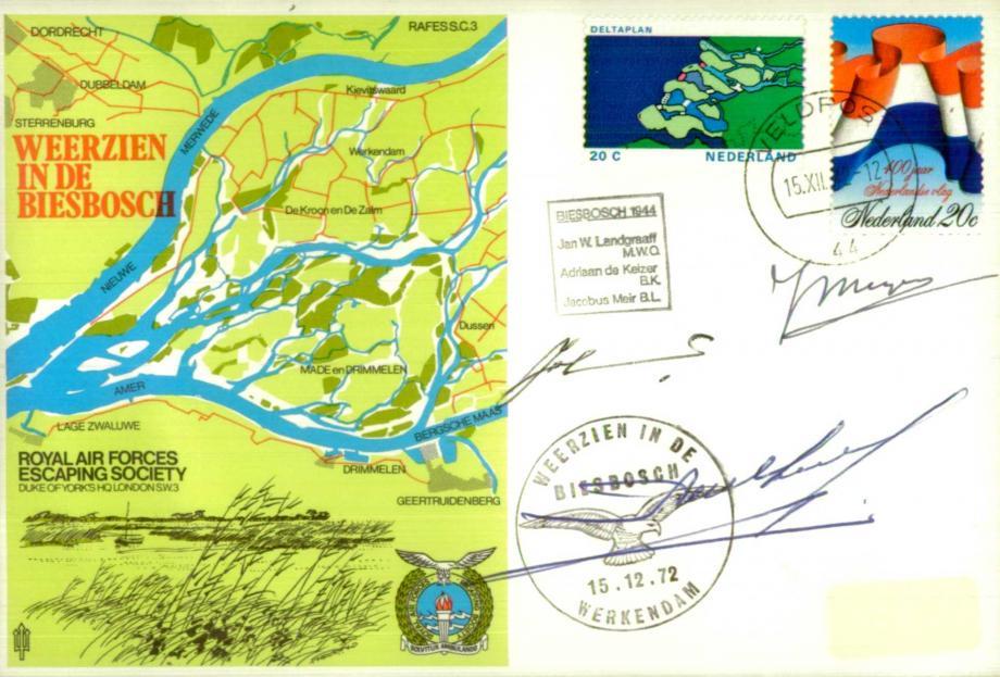 Weerzien in de Biesbosch cover Sgd Landgraaf de Keizer and J Meir