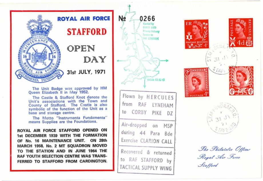 RAF Stafford cover