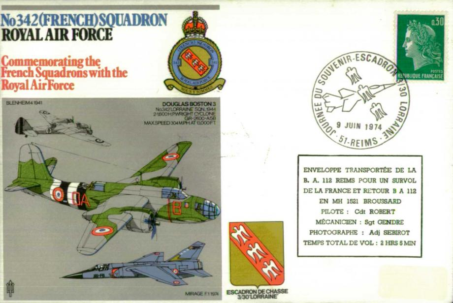 No 342(French) Squadron cover