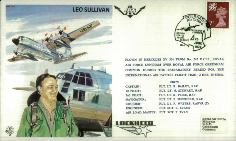 Leo Sullivan the Test Pilot cover