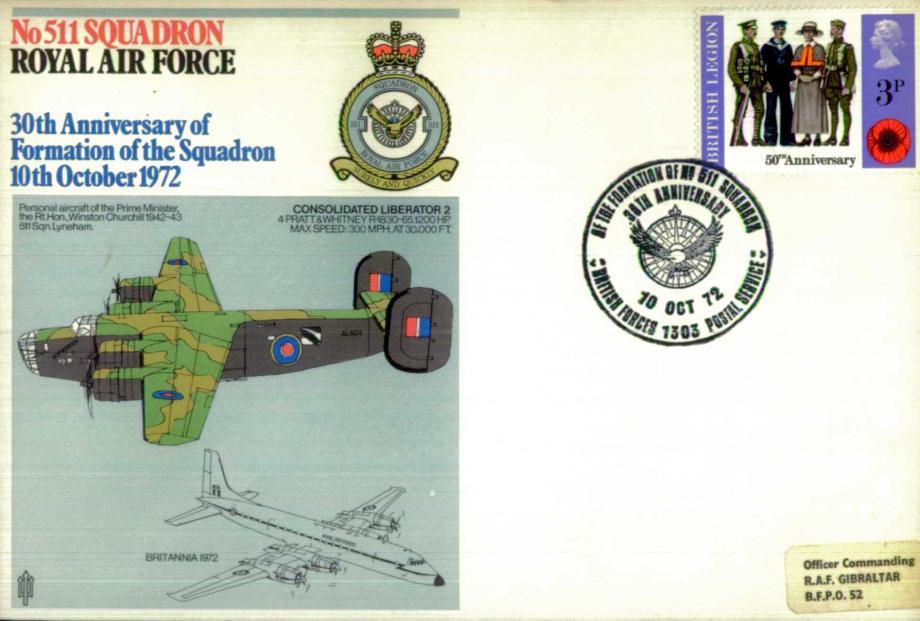 No 511 Squadron cover