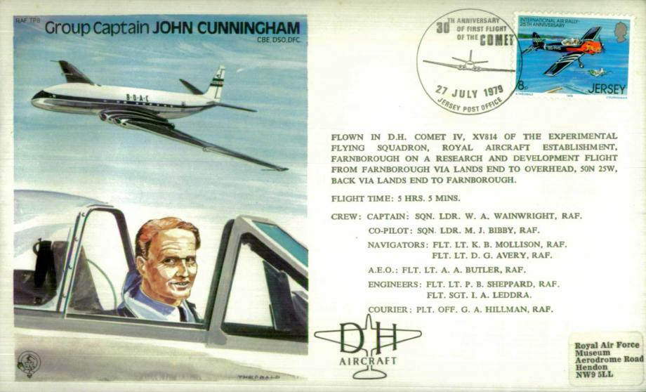John Cunningham the Test Pilot cover