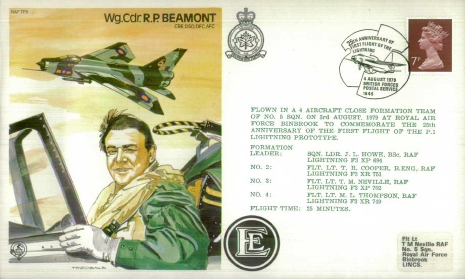 Wg Cdr R P Beamont the Test Pilot cover