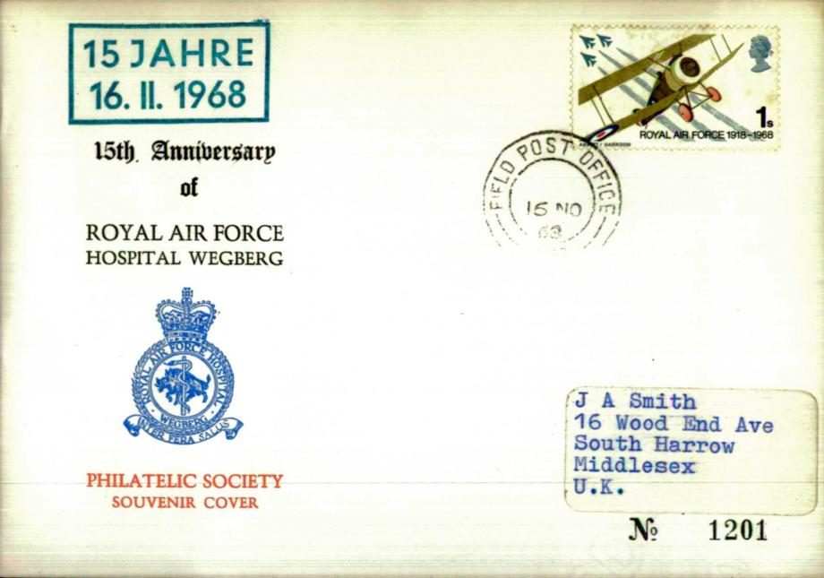 RAF Hospital Wegberg cover