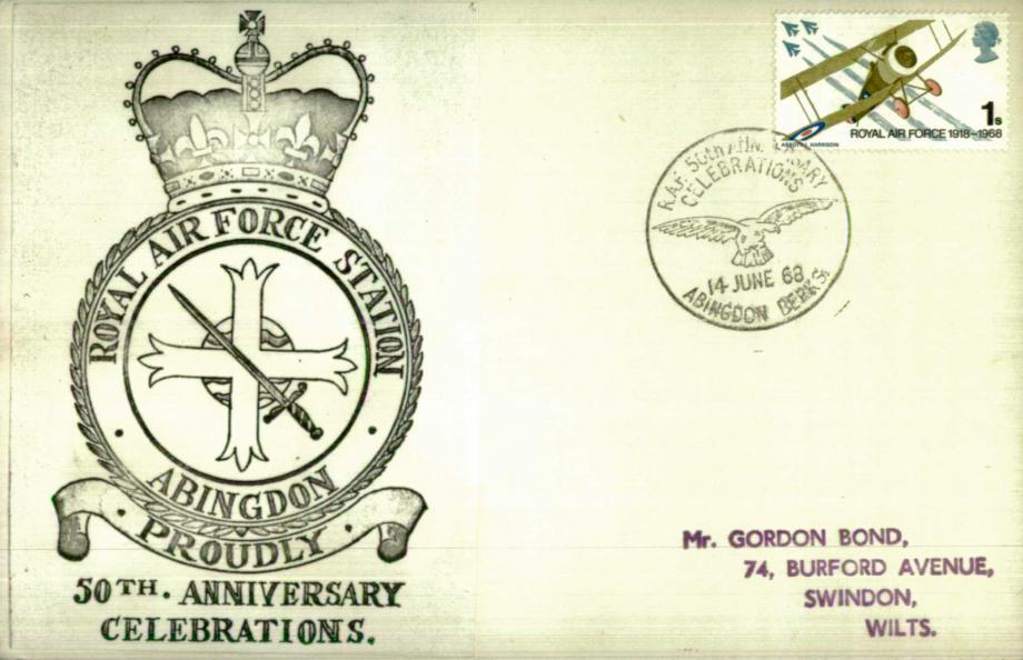 RAF Abingdon cover