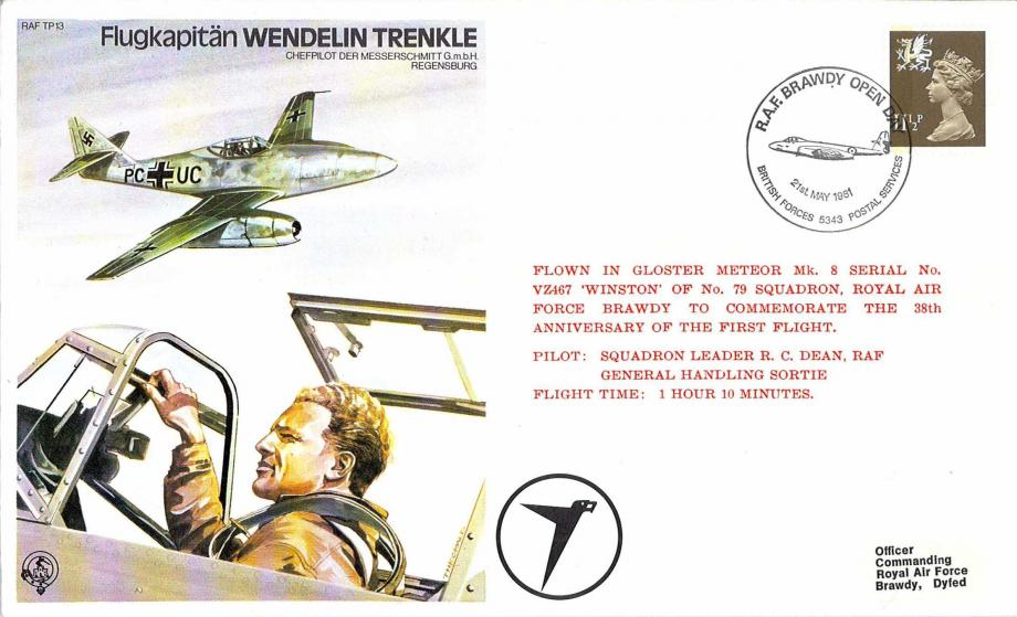 Flugkapitan Wendelin Trenkle the Test Pilot cover