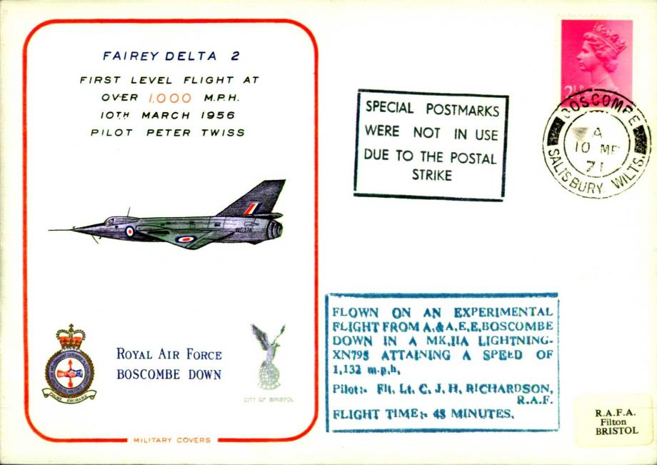 RAF Boscombe Down cover
