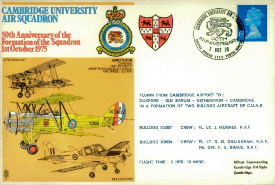 Cambridge University Air Squadron cover