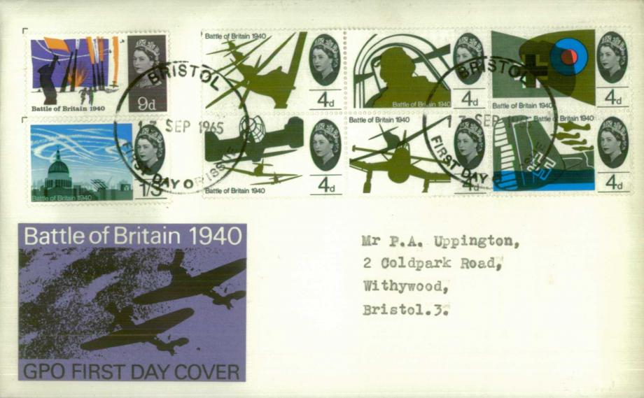 Battle of Britain FDC 13.9.65
