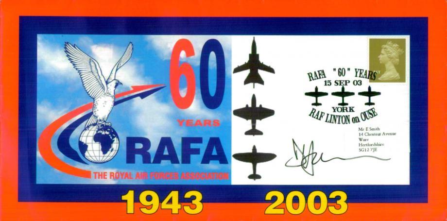 60 Years of RAFA cover