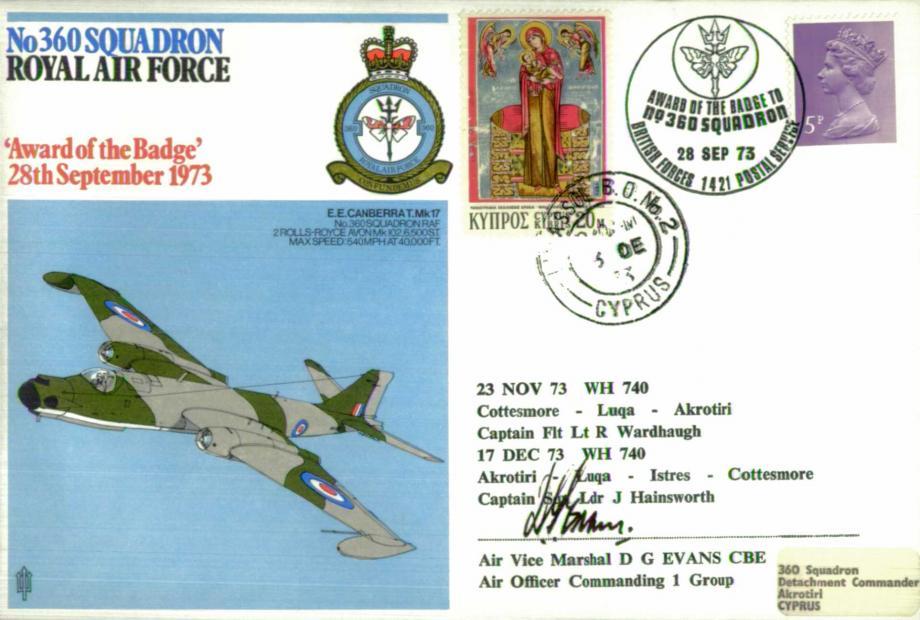 No 360 Squadron cover