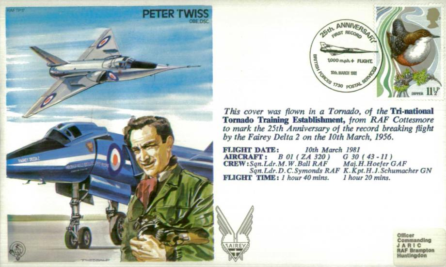 Peter Twiss the Test Pilot cover