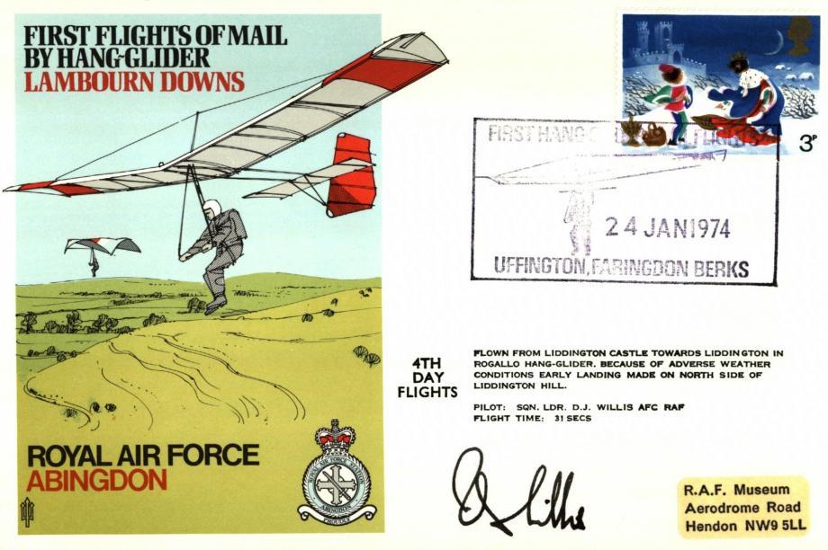 RAF Abingdon cover Sgd D J Willis