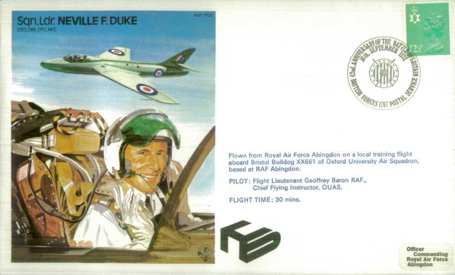 Neville Duke the Test Pilot cover