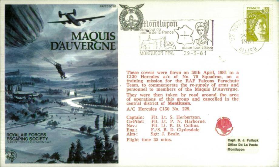 Maquis D'Auvergne cover