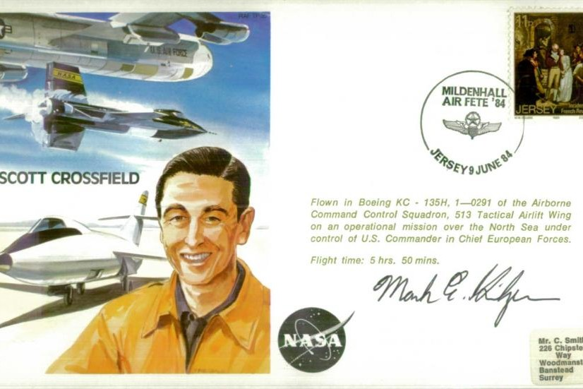 A Scott Crossfield the Test Pilot cover Sgd pilot