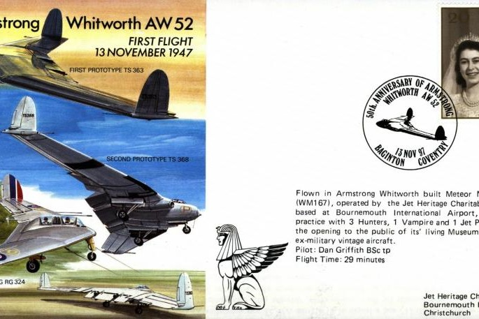 Armstrong Whitworth AW 52 Cover