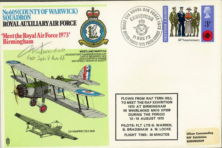 605 (County Of Warwick) Squadron Cover
