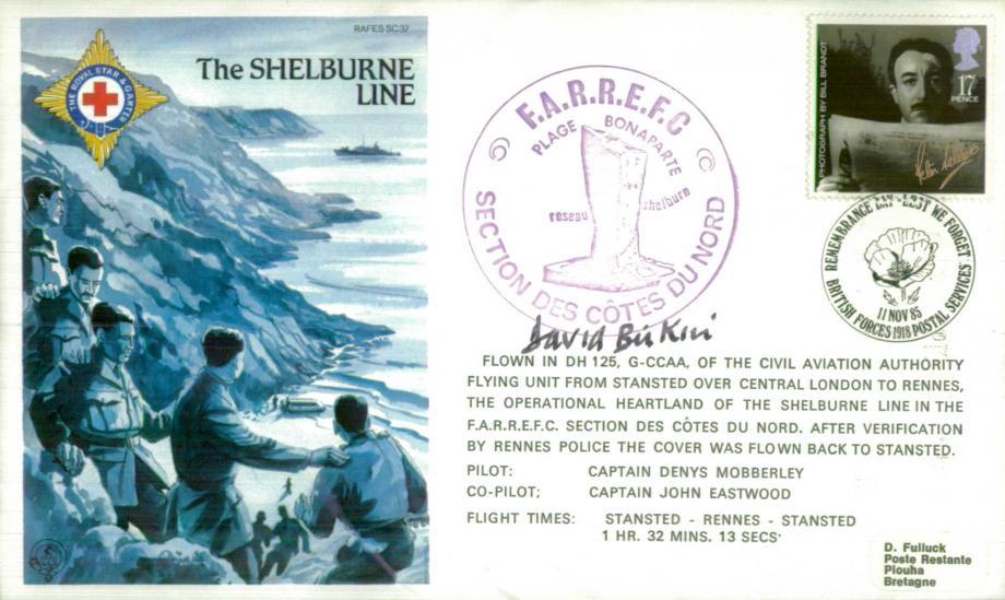 Shelburne Line cover Sgd David Birkin