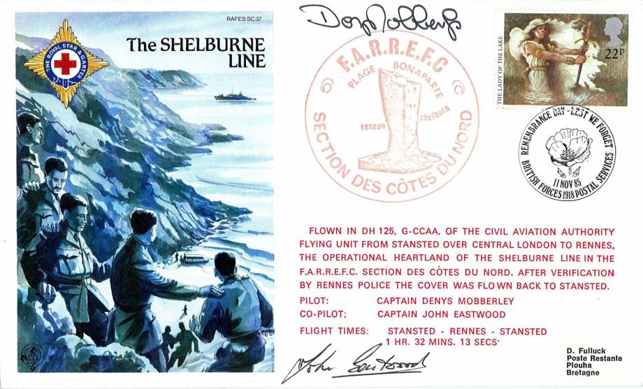 Shelburne Line cover Sgd D Mobberley and J Eastwood