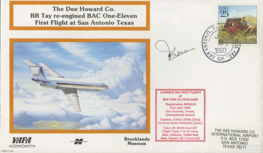The Dee Howard Co cover Sgd pilot J Lewis
