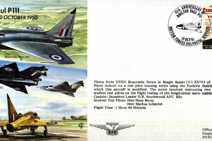Boulton Paul P111 Cover
