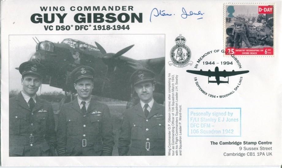 106 Squadron cover Sgd S E J Jones of 106 Sq