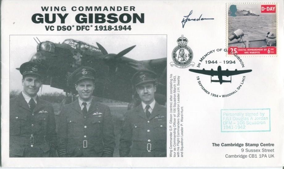 106 Squadron cover Sgd D A Jordan of 106 Sq