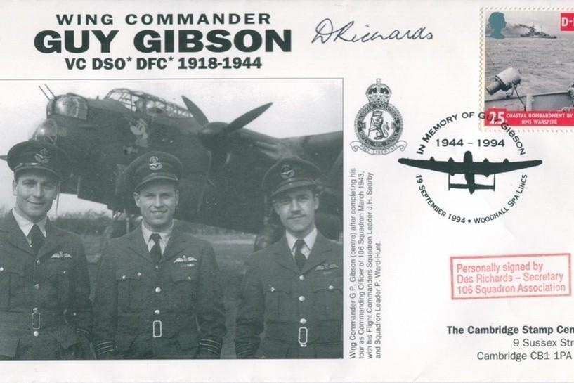 106 Squadron cover Sgd Des Richards of 106 Sq