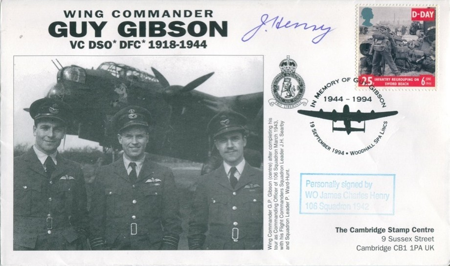 106 Squadron cover Sgd J C Henry of 106 Sq