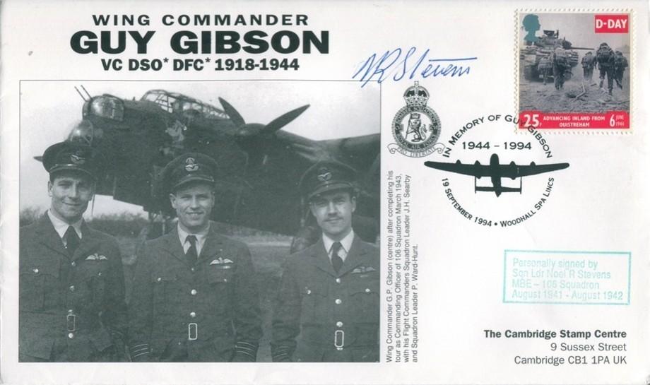 106 Squadron cover Sgd N R Stevens of 106 Sq