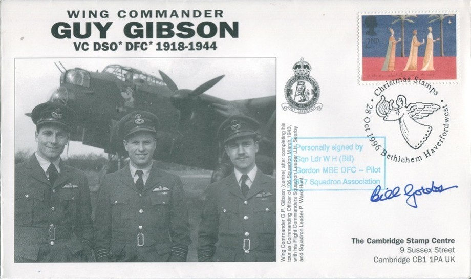106 Squadron cover Sgd W H Bill Gordon of 617 Sq