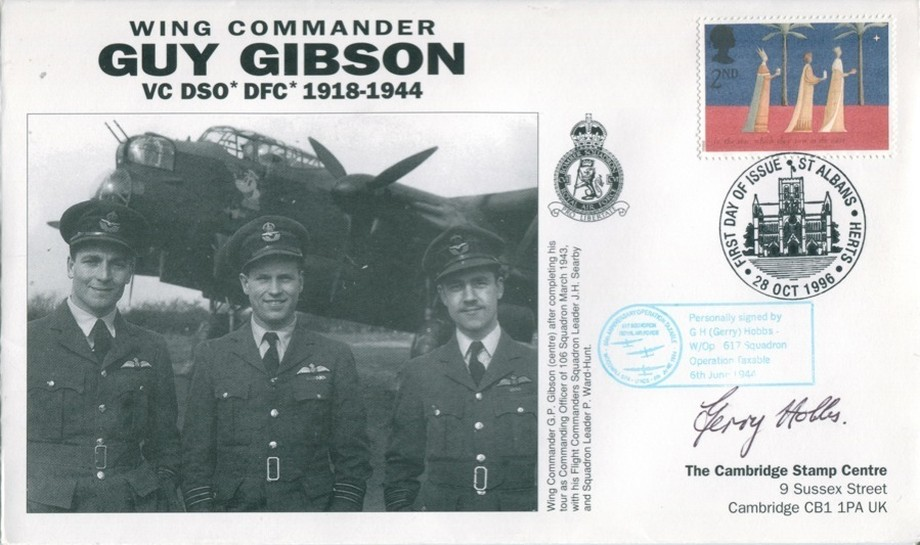 106 Squadron cover Sgd Gerry Hobbs of 50 Sq and 617 Sq