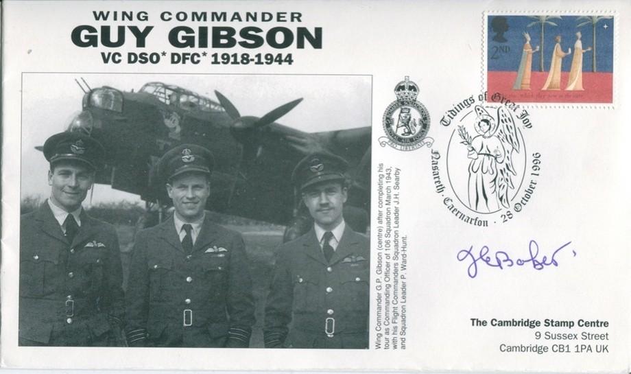 106 Squadron cover Sgd J E Jack Baker of 617 Sq