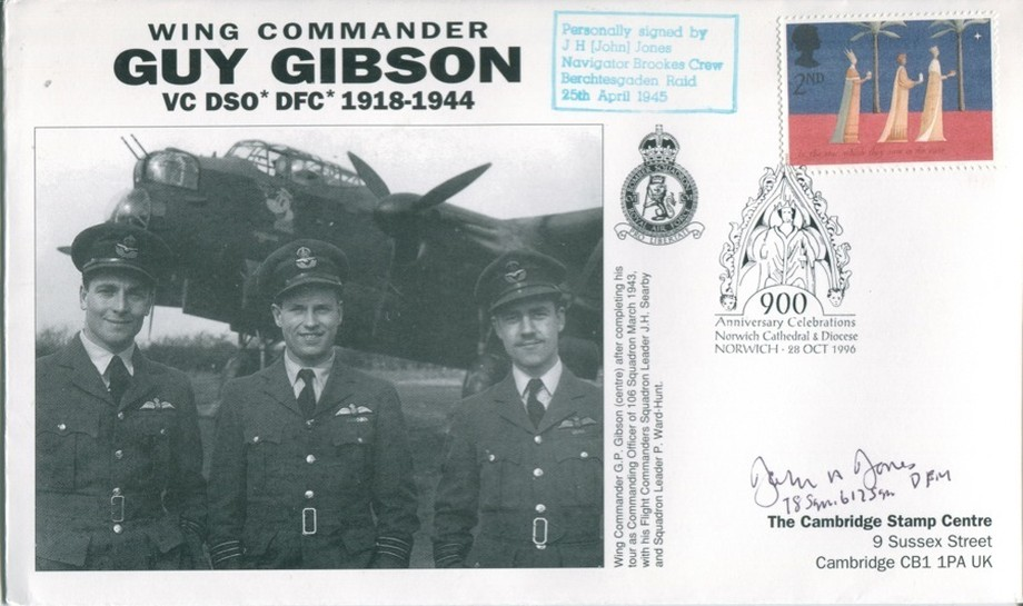 106 Squadron cover Sgd J H Jones of 106 Sq 78 Sq and 617 Sq