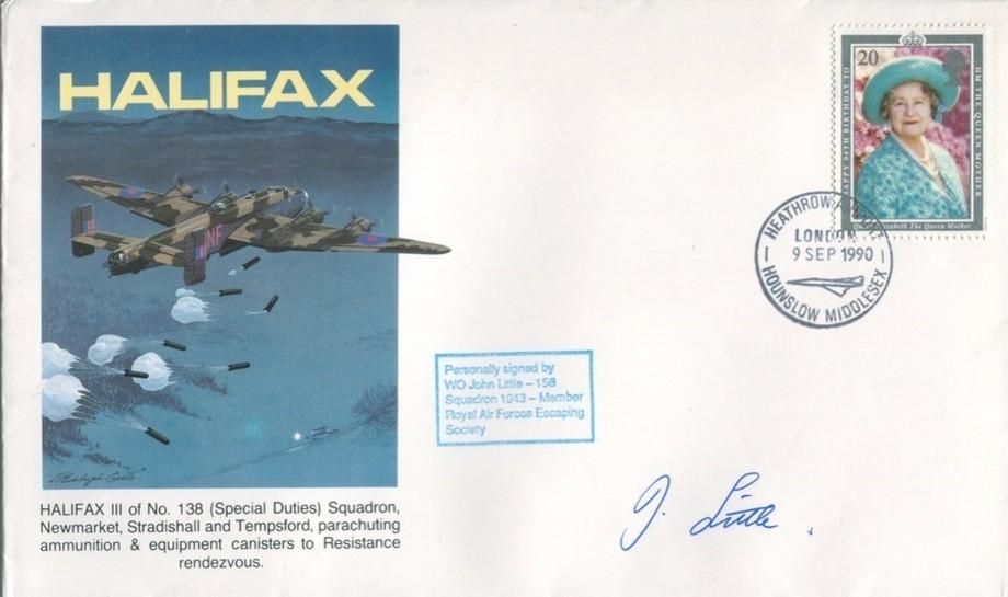 Halifax cover Sgd John Little of 158 Sq