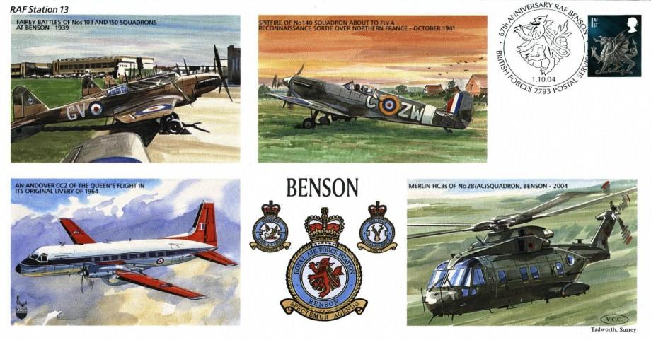 RAF Benson cover
