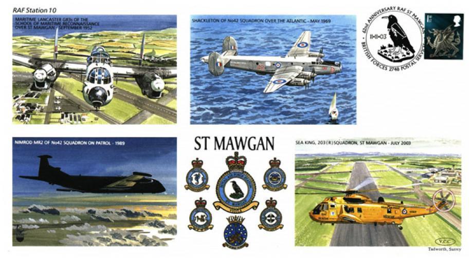 RAF St Mawgan cover