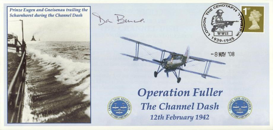 Operation Fuller cover Sgd Don Bunce of 825 Sq Fleet Air Arm in 1942