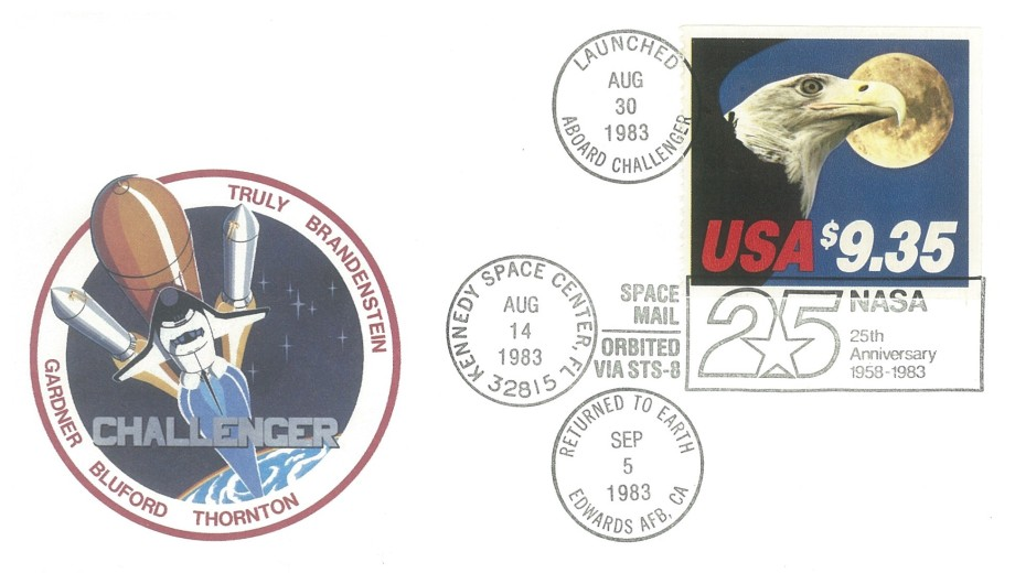 25th Anniversary of NASA cover