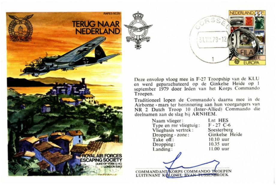 Terug Naar Nederland cover Sgd Commandant