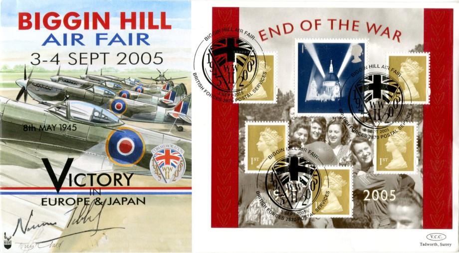 Biggin Hill Air Fair 2005 Sgd Rt Hon Norman Tebbit