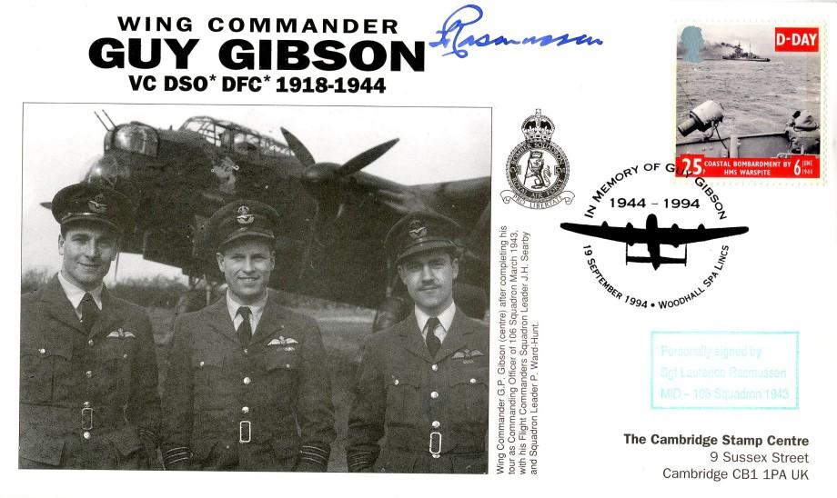 106 Squadron cover Sgd L Rasmussen of 106 Sq