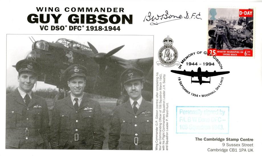 106 Squadron cover Sgd B W Bone of 106 Sq